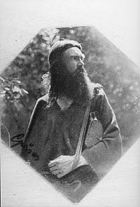 菜食主義アナーキスト グスト・グレイザー 1908年。 写真コンラッド・クレイン