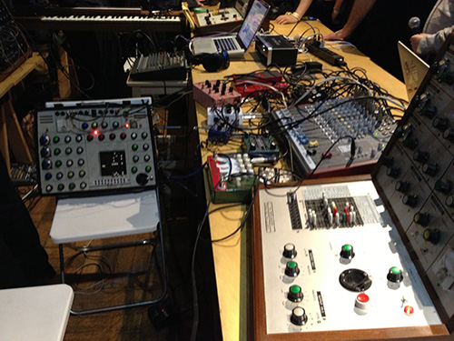 EMS SYNTHI 'A'  & EMS VCS 3 MKII